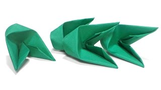 getlinkyoutube.com-How To Fold 3D Origami Pieces Faster Tutorial