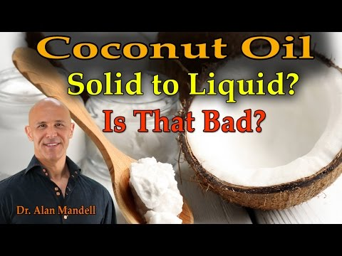 Is It Bad For Your Coconut Oil To Always Melt And Solidify? (Dr. Mandell)