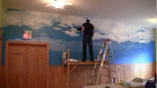 getlinkyoutube.com-Time lapse Mural at Parlee Beach Motel
