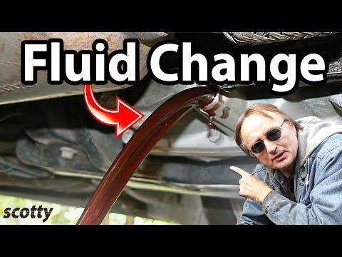 How to Change Automatic Transmission Fluid in Your Car