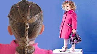 getlinkyoutube.com-تسريحات شعر للاطفال الصغار للشعر الخشن و الناعم و المجعد و الطويل و القصير Hairstyles for children
