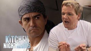 Chef Crumbles Under Pressure On Re-Opening Night | Kitchen Nightmares width=