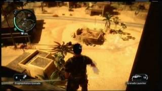 getlinkyoutube.com-Just Cause 2: Secret Weapon & Vehicle Locations (PART1)