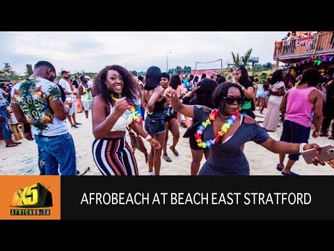 AFROBEACH at Beach East Stratford 2017