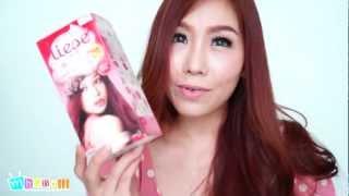 getlinkyoutube.com-[HD]ทำสีผมเองครั้งแรกกับ Liese สี Jewel Pink