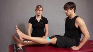 getlinkyoutube.com-Kinesio Tape, Kinesiologie Tape bei Schmerzen an der Patella (Patellaspitzensyndrom)
