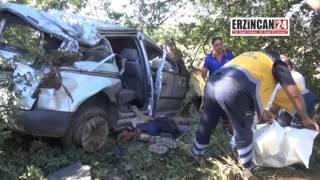 Erzincan'daki Kazada İki Aile Yok Oldu: 4 Ölü, 1 Yaralı