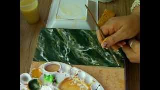 getlinkyoutube.com-IMITACION DE MARMOL VERDE 1 - IMITATION GREEN MARBLE
