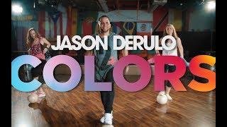 Jason Derulo - Colors (OFFICIAL DANCE CHOREOGRAPHY)