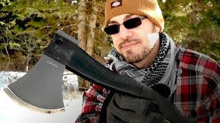 Schrade SCAXE2 Camp Hatchet Field Test & Review