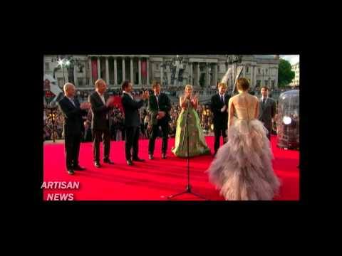 HARRY POTTER ACTORS SAY THANKS AND GOODBYE AT LONDON PREMIERE FOR DEATHLY HALLOWS, PART 2