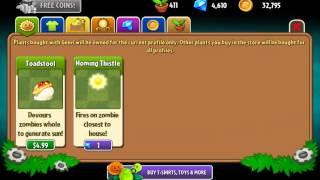 getlinkyoutube.com-Purchase Unknown Plants in v3.7.1 - Hack - Plants Vs. Zombies 2: It's About Time