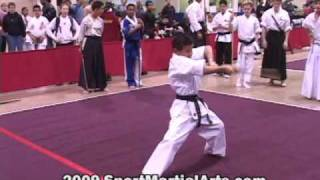 Taylor Lautner - 2004 Compete Nationals - Traditional Weapons