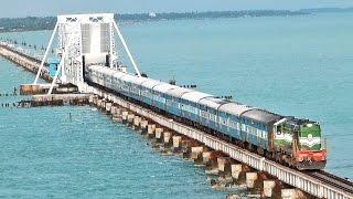 getlinkyoutube.com-India's MOST DANGEROUS Rail BRIDGE PAMBAN Rameswaram.