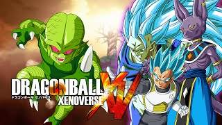 getlinkyoutube.com-Dragon Ball Xenoverse MODS | Saibamen VS SSJGSSJ 3 Goku, Vegeta & Beerus (Duels)