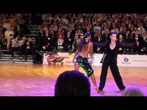 GOC Stuttgart - WDSF, Grand Slam Latin 2011 - final - Solo Cha Cha