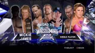 getlinkyoutube.com-WWE Smackdown vs Raw 2010 - Road to Wrestlemania - Mickie James Story - Part 1