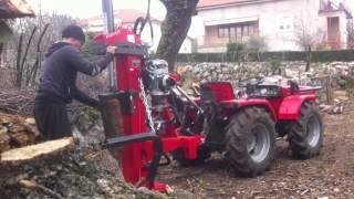 getlinkyoutube.com-Antonio Carraro Supertigre 5000 i cjepač Krpan 14 tona