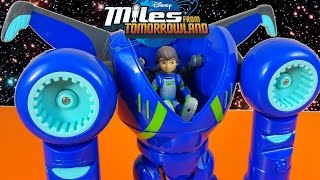 getlinkyoutube.com-MILES FROM TOMORROWLAND TRANSFORMING EXO FLEX SPACE SUIT SPACE SHIP DISNEY JUNIOR