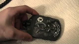 getlinkyoutube.com-URWERK Zeit Machine UR-1001 Pocket Watch Hands-On
