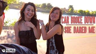 getlinkyoutube.com-Car Broke Down -  She Poops Funny - Road Trip Vlog Smurfinwrx