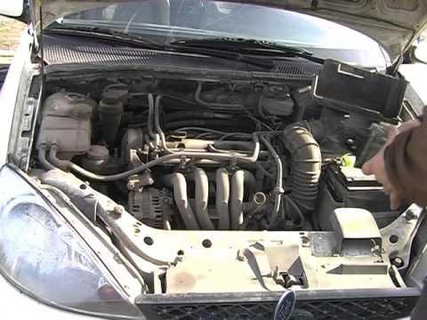Ford Focus 1. Принцип замены стартера.