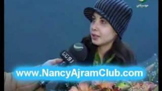 getlinkyoutube.com-Nancy Ajram- Back From USA- Interview (Rotana)