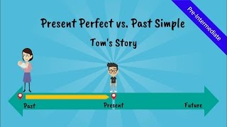 getlinkyoutube.com-Present Perfect Tense vs. Past Simple: Tom's Story (A comical story of Tom, the ESL student - Video)