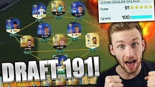 ZROBIŁEM DRAFT 191! | FIFA 16
