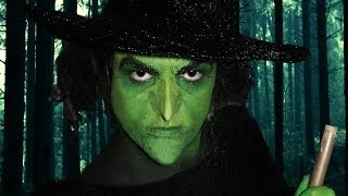 getlinkyoutube.com-Wicked Witch of the West! - Wizard of Oz - Makeup Tutorial!