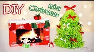 getlinkyoutube.com-DIY Mini Christmas Decorations – Tiny Holiday Decor Ideas