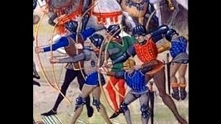 English Longbows vs late-medieval plate armour
