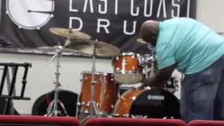 Jay Williams drum clinic