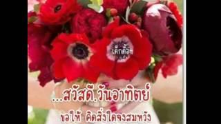 getlinkyoutube.com-สวัสดีเช้าวันอาทิตย์ สีแดง