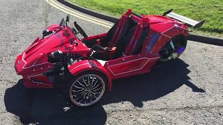 getlinkyoutube.com-SPMZ HSR 'F1' 300cc TRIKE