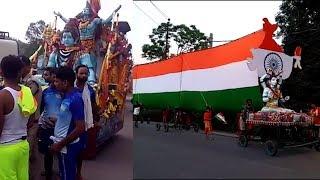 Haridwar: केसरिया रंग में रंगी धर्मनगरी, चारों ओर बम-बम भोले के जयकारे