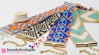 getlinkyoutube.com-How to Make the Beaded Loom Bracelet Kits by Beadaholique