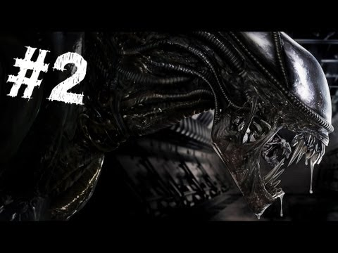Aliens Colonial Marines Gameplay Walkthrough Part 2 - Battle for Sulaco - Mission 2