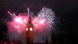 getlinkyoutube.com-London Fireworks 2012 in full HD - New Year Live - BBC One