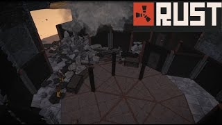 getlinkyoutube.com-Rust Raid: 60 C4 vs Geometric Base Design