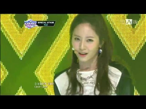 f(x)_Electric shock(Electric shock byf(x)@Mcountdown 2012.12.20)