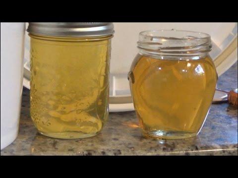 Beginner Beekeeping- Extracting honey in fall. Last honey harvest of the season