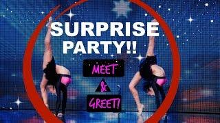 Surprise Party MEET & GREET!