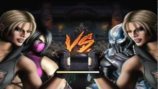 getlinkyoutube.com-Mortal Kombat 9 - Sonya and Mileena (Tag Ladder) [Expert] No Matches/Rounds Lost