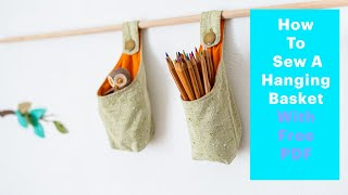 getlinkyoutube.com-How to Sew a Hanging Basket