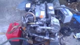 getlinkyoutube.com-Yanmar 3YM30 Marine Diesel Engine Package