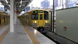 getlinkyoutube.com-西武新2000系(準急) 西武新宿駅発車