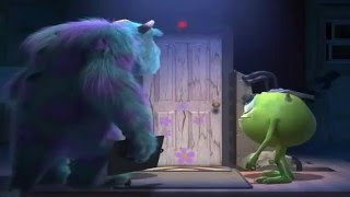 getlinkyoutube.com-Escena del Monster Inc: Gatito