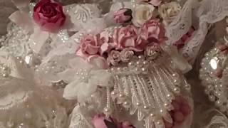 getlinkyoutube.com-Inspired Shabby Chic Michael's Globe Ornaments