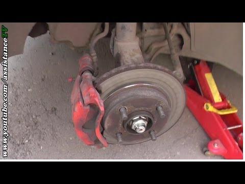 Ремонт Авто/Как заменить тормозные колодки/Замена передних тормозных колодок